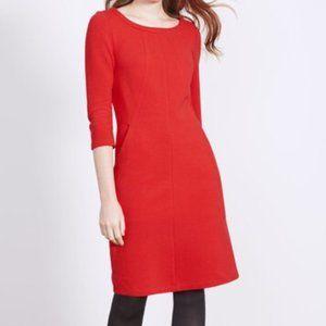 Boden Ottoman Red Dress